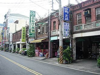 Street in the old town of Tianzhong TienchungOldStreet.JPG