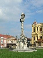 Timisoara - Figure near Dome
