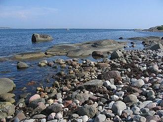 Norwegian coastline - Image: Tjøme Sandø c