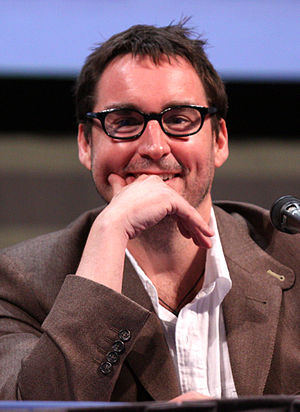 Toby Whithouse - Whithouse at the 2011 San Diego Comic-Con International.