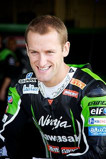Tom Sykes British motorcycle racer