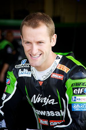 Tom Sykes - Sykes at World Superbikes, Silverstone, 2012.