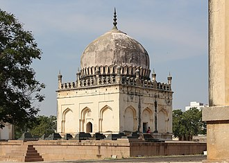Quli Qutb Mulk - Tomb of Sultan Quli Qutb Shah in Hyderabad