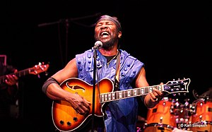 Toots Hibbert - Toots Hibbert performing with Toots & the Maytals Orlando, Florida Photo: Karl Simpson