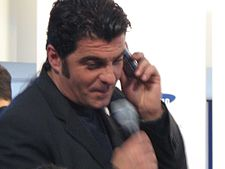 Torino 2006 Sponsors Village Alberto Tomba attending Samsung charity auction sale.jpg