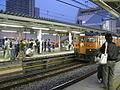 Toritetsu at Ageo Station 20091101 1.jpg