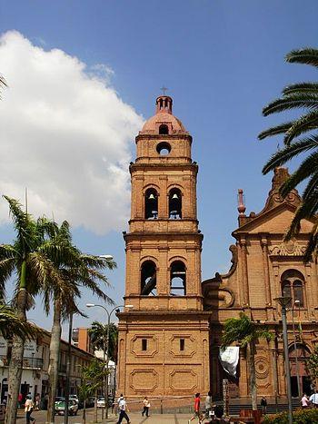 Torre de la Catedral Metropolitana de Santa Cruz de la Sierra Bolivia