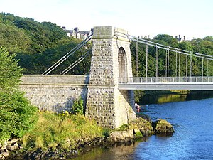 John Smith (architect) - Torry side of Wellington Suspension Bridge