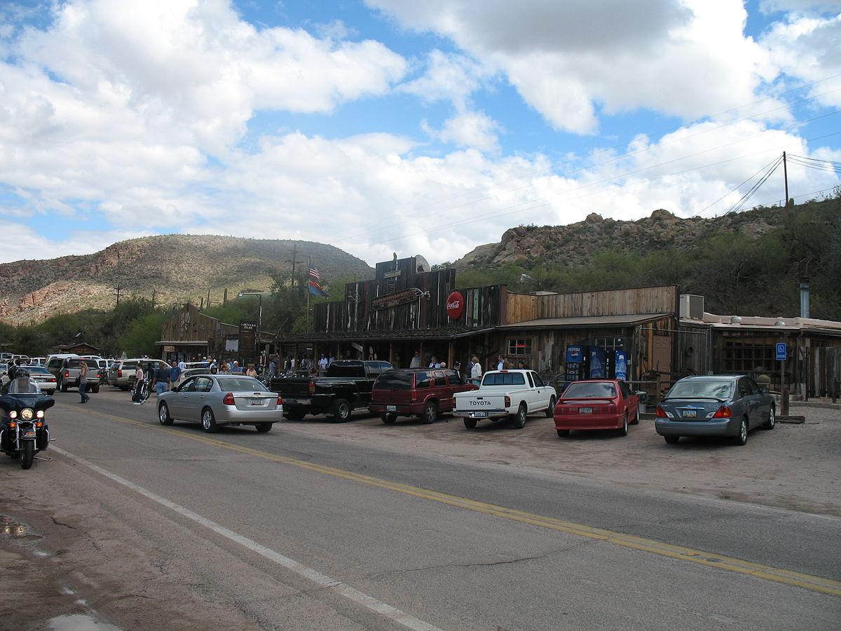 Tortilla Flat Arizona Wikipedia - Apache junction car show