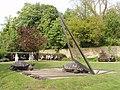 Tortoise sundial, Holland Park - geograph.org.uk - 788995.jpg