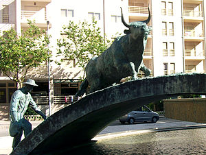 Touro (sculpture) - The bull (Touro).