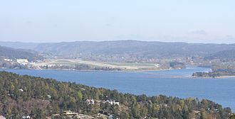 Topdalsfjorden - View of the fjord in Kristiansand