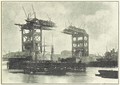 Tower Bridge under construction from History of the Tower Bridge, 1894.png