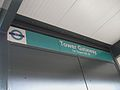Tower Gateway DLR stn signage.JPG
