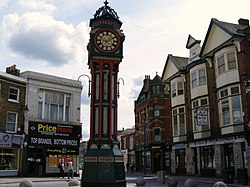 Town Clock High Street Sheerness - geograph.org.uk - 1285434.jpg