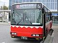 Toyama Chitetsu Bus 511 at Kurobe Station.jpg