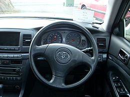 Toyota Mark II Blit steering wheel.JPG