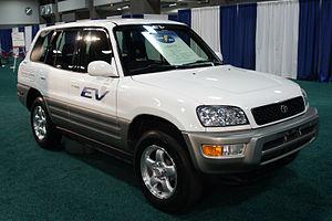 Toyota RAV4 EV - Image: Toyota RAV4 EV WAS 2012 0759