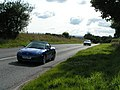 Traffic passing South Whimple farm on the old A30 near Exeter Airport - geograph.org.uk - 1435528.jpg