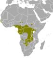 Tragelaphus spekii map.png