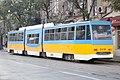 Tram in Sofia mear Macedonia place 2012 PD 025.jpg