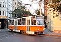 Tramway in Sofia in Alabin Street 2012 PD 042.jpg
