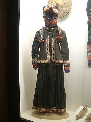 Qabiao people - Image: Trang phuc Pu Peo