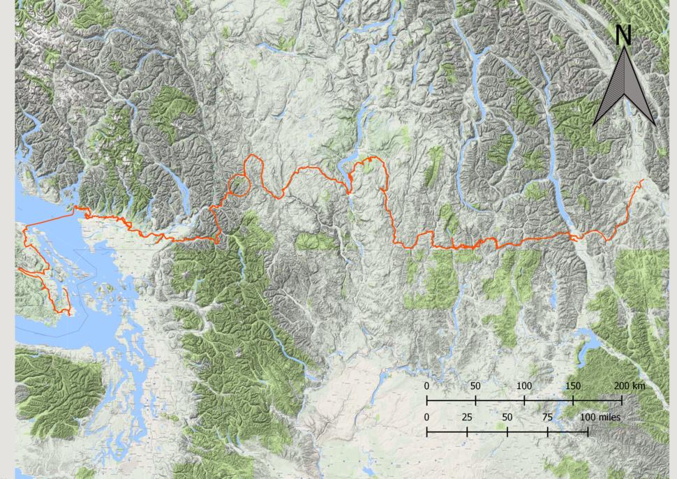 Trans Canada Trail - B.C