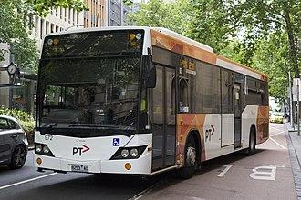 Public Transport Victoria - Transdev Melbourne bus in PTV livery