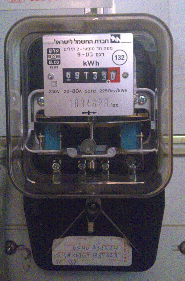 Electronic Meter Reading Device : Energy meter