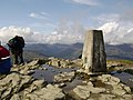 Trig point at summit of Ben Lomond - geograph.org.uk - 564141.jpg