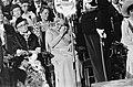 Troonswisseling 30 april , inhuldiging in Nieuwe Kerk ontroerde Prinses Julian, Bestanddeelnr 930-8073.jpg