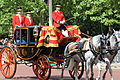 Trooping the Colour 2013, the Queen's coach.JPG