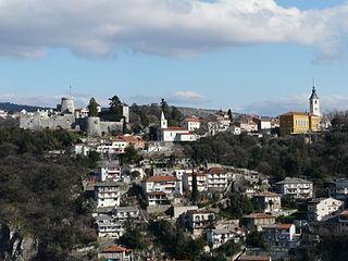 area of Rijeka, Croatia