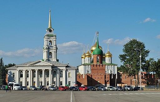 Tula Kremlin view