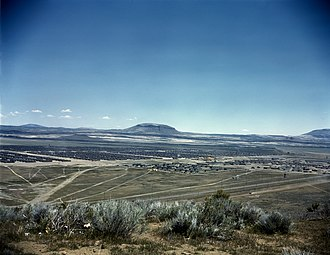 Tule Lake National Monument - A view of the Tule Lake War Relocation Center which became the Tule Lake Segregation Center