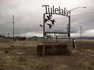 Tulelake, California City in California