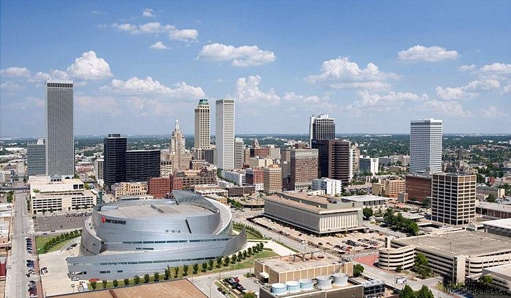 Tulsa skyline picture