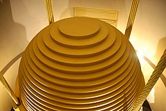 Tuned mass damper - Wikipedia, the free encyclopedia