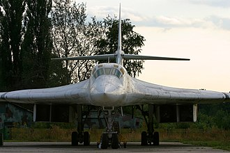 Tupolev Tu-160 - Blended wing profile