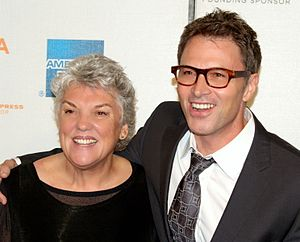 Tim Daly - Daly with his sister Tyne