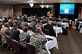 U.S. Army Gen. Daniel Allyn, at lectern, the commanding general of U.S. Army Forces Command, delivers remarks to Soldiers and civilians attending the 2013 U.S. Army Reserve Senior Leader Forum at Peterson Air 130819-A-XN107-260.jpg