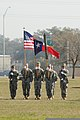 U.S. Soldiers with the 36th Infantry Division participate in a change of command ceremony at Camp Mabry, Texas, Jan 120121-A-PF319-054.jpg