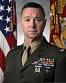 U. S. Marine Corps Col. Donald L. Revell Official Command Portrait, assumed command of Intelligence Support Battalion, Marine Forces Reserve, New Orleans LA Sept 110705-M-ZZ999-016.jpg