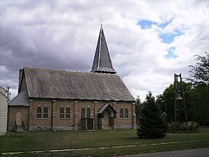 National Register of Historic Places listings in Grant County, South Dakota - Image: UCC Milbank 1