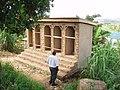 UDDT under construction in Luzira, Kampala (4331538083).jpg