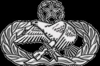 Gerald R. Murray - Image: USAF Master Maintenance Badge