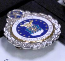 USAF Master Recruiter Badge