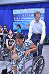 USAID Project Supports Rehabilitation Department for Children and Wheelchair Distribution in Danang (9302467309).jpg