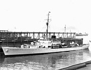 USCGC Campbell (WPG-32) at New York Navy Yard 1940